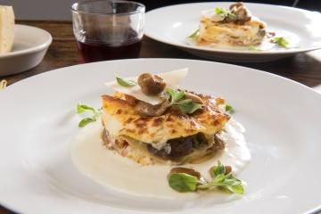 Lasagna porcini