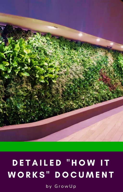 GrowUp green walls How it works document