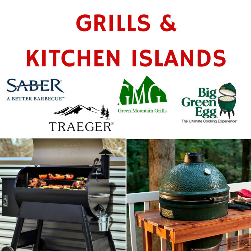 Grills & Kitchen Islands