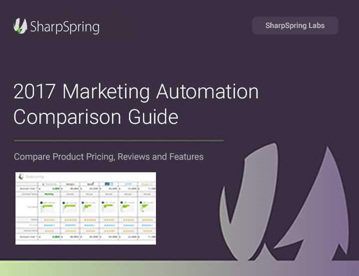 2017 Marketing Automation Comparison Guide